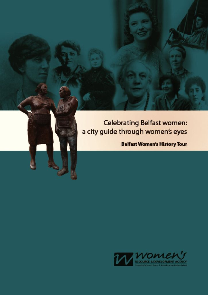 thumbnail of celebrating belfast women – tour guiding booklet