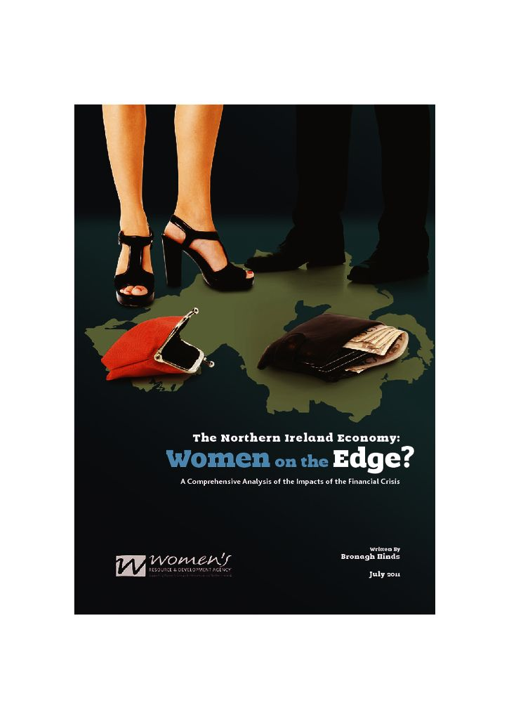 thumbnail of the ni economy – women on the edge report