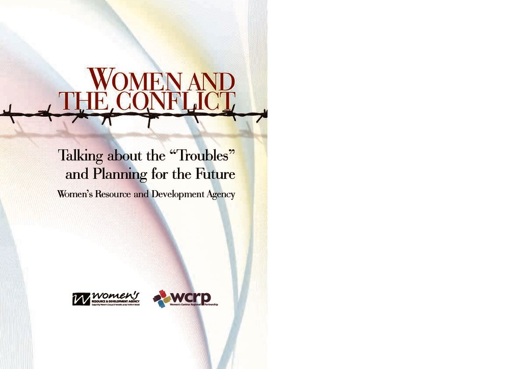 thumbnail of women_&_conflictreport
