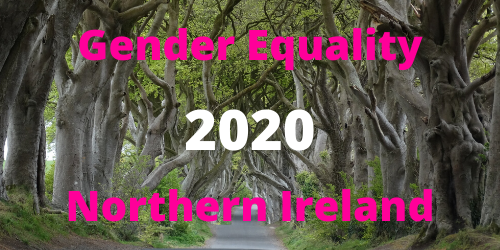 Dark Hedges photograph. Gender Equality 2020 Northern Ireland.