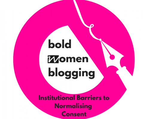 Institutional barriers to normalising consent.
