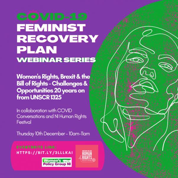 Feminist Recovery Plan Webinar