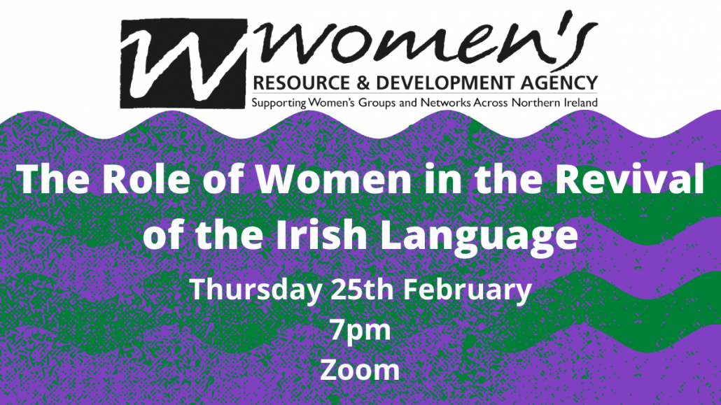 The role of women in the revival of the Irish Language