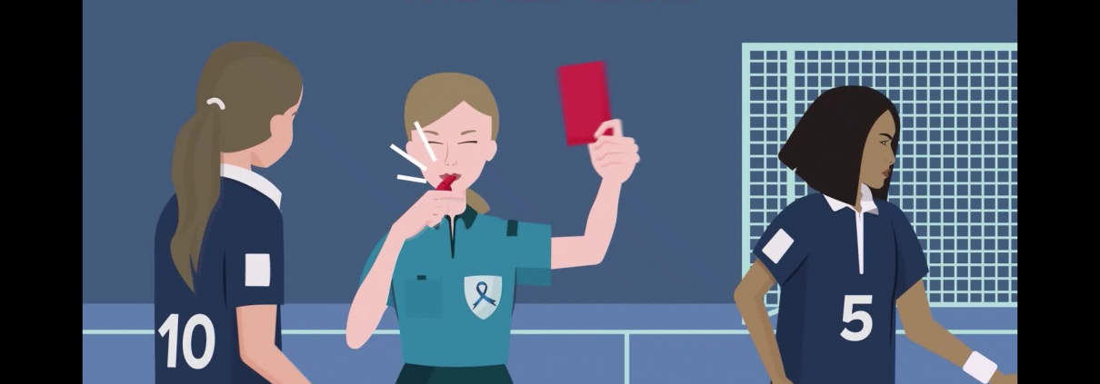 Help Us Show Bowel Cancer the Red Card