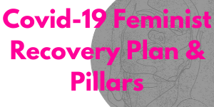 Covid-19 Feminist Recovery Plan and Pillars