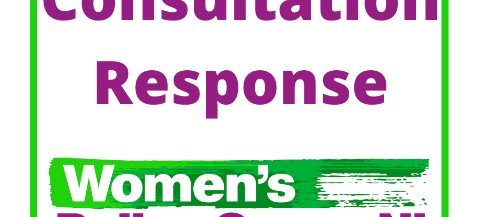 Consultation response from the women's policy group Northern Ireland.